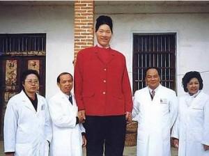 7 Cewek tertinggi di dunia