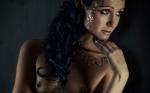 Wallpaper gadis seksi artistik semi telanjang sampai telanjang (43)