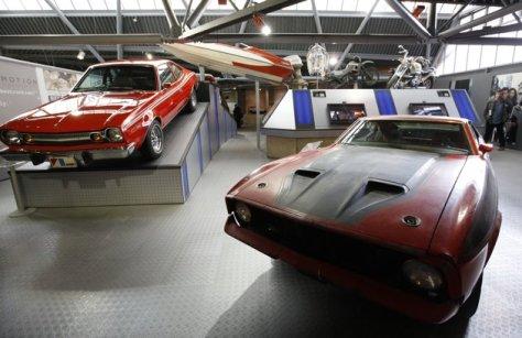 Foto kedua Ford Mustang Mach 1 yang digunakan James Bond pada film Diamonds are Forever. Foto ReutersSuzanne Plunkett.