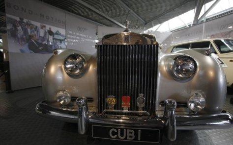 Rolls Royce Silver Cloud II digunakan James Bond dalam View to a Kill. AP PhotoAlastair Grant