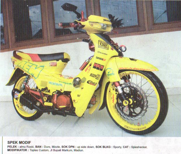 Modifikasi Honda Supra 03 Madiun