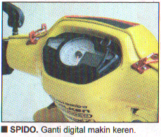 Spido diganti digital