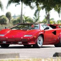 Mobil Lamborghini Countach LP5000S QV 1985