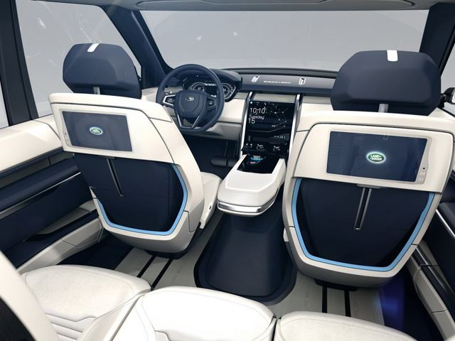 Land Rover Discovery Vision Interior 3